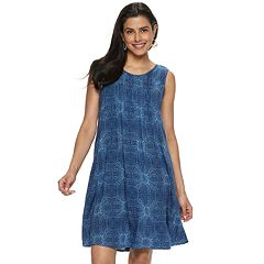 716fd824a6 Women s SONOMA Goods for Life™ Pintuck Challis Dress