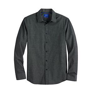 Men's Apt. 9® Slim-Fit No-Iron Stretch Button-Down Shirt