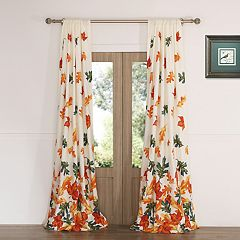 Falling Leaves 2-pack Window Curtains