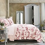 Greenland Home Classic Toile Quilt Set