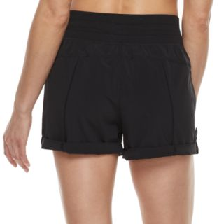 Women's Tek Gear® Roll-Tab Woven Shorts
