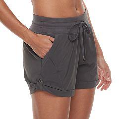 Women's Tek Gear® Roll-Tab Woven Shorts