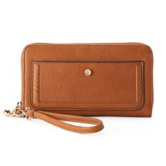 LC Lauren Conrad Rue Zip-Around Wallet