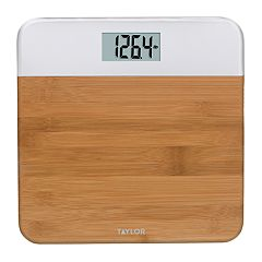 Taylor Digital Bath Scale with Natural Finish