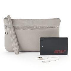 Apt. 9® RFID-Blocking Phone Charging Wristlet