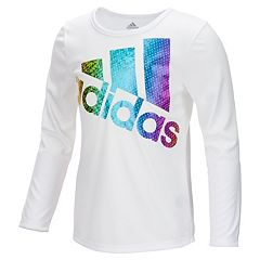 Girls 7-16 adidas Long Sleeve Colors Ignite Tee