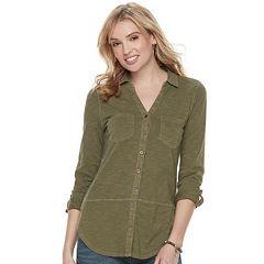 Women's SONOMA Goods for Life™ Tunic Shirt