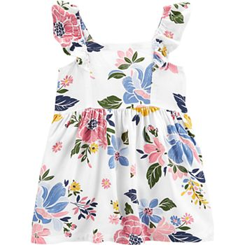 Baby Girl Carter's Floral Babydoll Dress