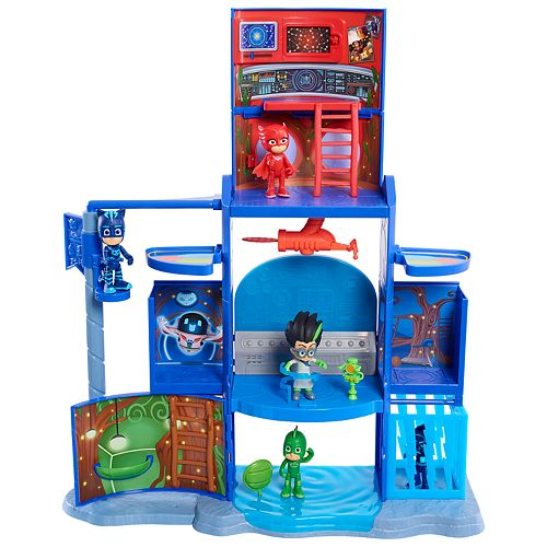 PJ Masks Transforming Headquarters Playset by Just Play