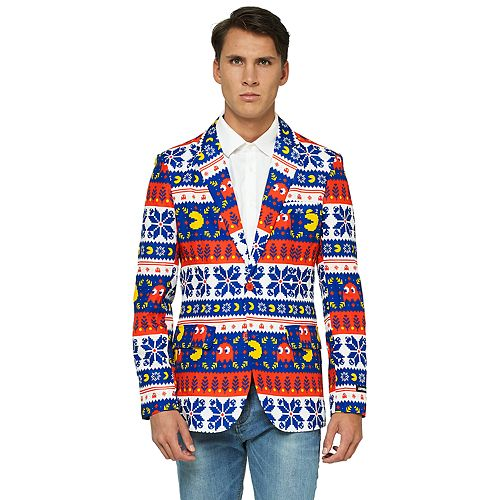 Men's OppoSuits Pac-Man Christmas Blazer