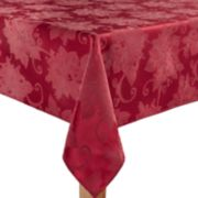 St. Nicholas Square® Solid Red Poinsettia Tablecloth