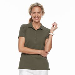 Women's Croft & Barrow® Classic Polo
