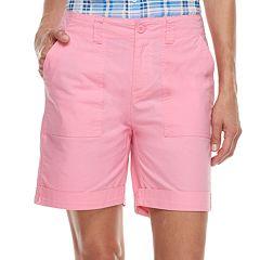 Women's Caribbean Joe Convertible Cuffed Shorts