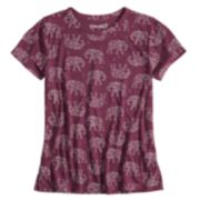 Girls 7-16 & Plus Size Mudd® Graphic Tee