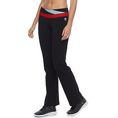 Women's FILA SPORT® Performance Contrast Waist Pants