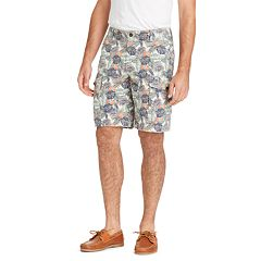Big & Tall IZOD Saltwater Beachtown Classic-Fit Cargo Shorts
