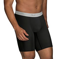 Men's Fruit of the Loom Signature Everlight Go Active 3-pack Long-Leg Boxer Briefs