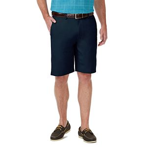 Men's Haggar® Cool 18® PRO Straight-Fit Expandable-Waist Stretch Performance Shorts