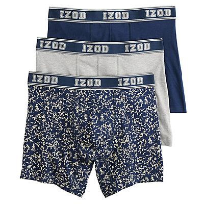 Men's IZOD 3-pack Stretch Boxer Briefs
