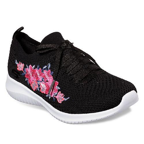85ef0d7eca22 Skechers Ultra Flex Women s Floral Sneakers