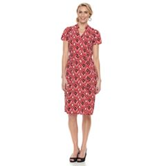 Women's Dana Buchman Notch Collar Dress