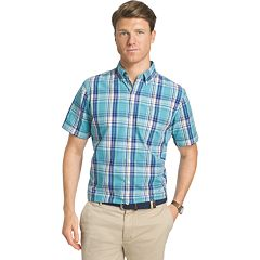 Big & Tall IZOD Saltwater Classic-Fit Button-Down Shirt