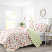 Laura Ashley Lifestyles Meadow Dance Quilt Set
