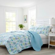 Laura Ashley Lifestyles Seaweed Fish Quilt Set