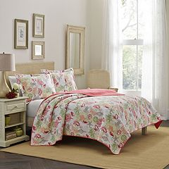 Laura Ashley Lifestyles Surf Spray Quilt Set