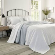 Laura Ashley Lifestyles Lilac Matelasse Coverlet