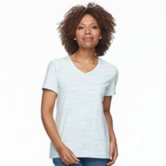 Petite Croft & Barrow® V-Neck Tee