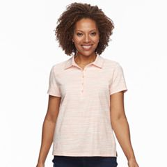 Petite Croft & Barrow® Essential Short Sleeve Polo