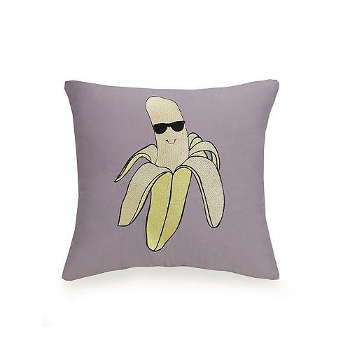 Urban Playground Cool Banana Throw Pillow