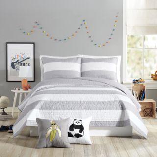 Urban Playground Panda Throw Pillow