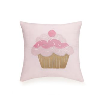 Urban Playground Cupcake Throw Pillow