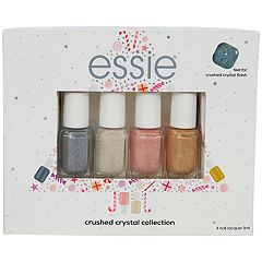 essie 4-Piece Concrete Glitter Mini Nail Polish Kit