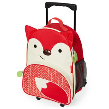 Skip Hop Zoo Fox Rolling Luggage