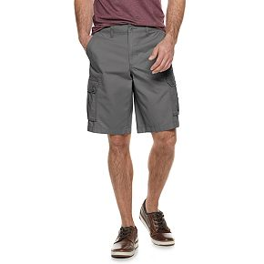 Big & Tall SONOMA Goods for Life? Belted Twill Cargo Shorts