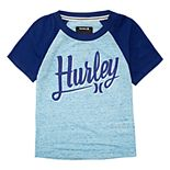 Toddler Boy Hurley Raglan Graphic Tee