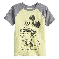 Disney's Mickey Mouse Boys 4-12 Raglan Slubbed Tee by Jumping Beans®