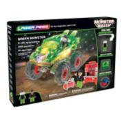 Laser Pegs Monster Rally Green Monster Off-Road Truck 290-piece Construction Block Set