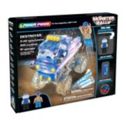 Laser Pegs Monster Rally Destroyer Off-Road Truck 200-piece Construction Block Set