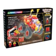 Laser Pegs Monster Rally Fire's Fury Off-Road Truck 350-piece Construction Block Set