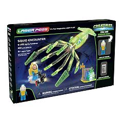 Laser Pegs Creatures Squid Encounter 160-piece Construction Block Set