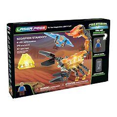 Laser Pegs Creatures Scorpion Standoff 170-piece Construction Block Set