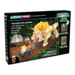 Laser Pegs Creatures Triceratops Charge 220-piece Construction Block Set