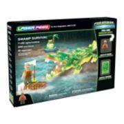 Laser Pegs Creatures Swamp Survival 240-piece Construction Block Set