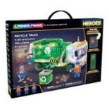 Laser Pegs Heroes Recycle Truck 330-piece Construction Block Set