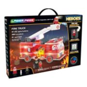Laser Pegs Heroes Fire Truck 280-piece Construction Block Set