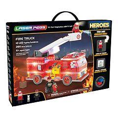 Laser Pegs Heroes Fire Truck 280-piece Construction Block Set